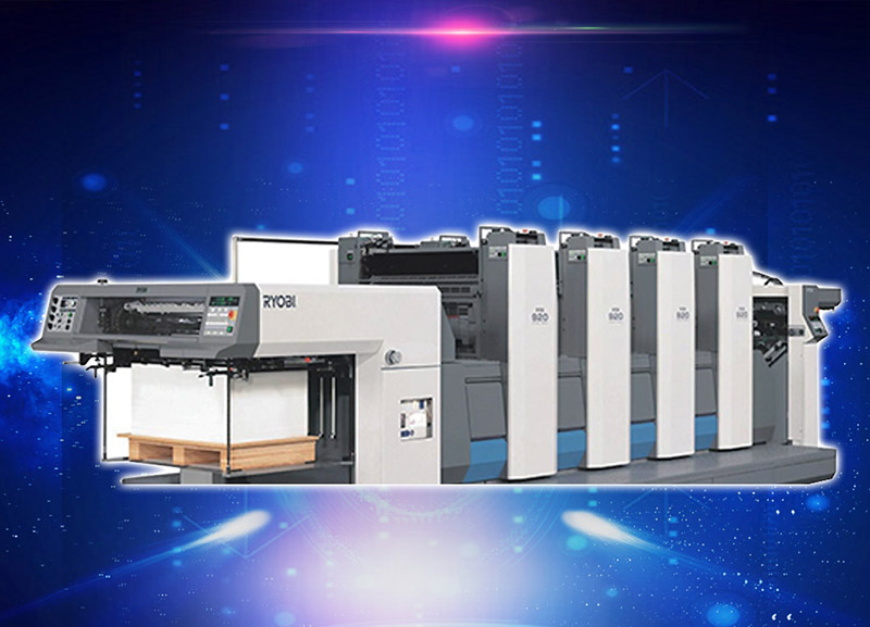 印刷机-良明利优比 Printing machine - good Ryobi