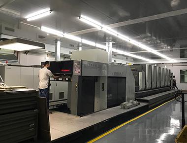 大兴印刷生产线